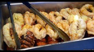 Holland America Food Buffet Dinner at Lido Market 150+ Items & Menus (4K)