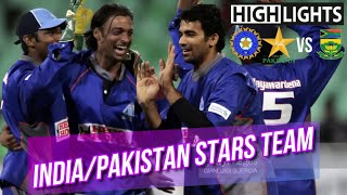 Last Ball Thriller | All Indian and Pakistani Stars in one Team | Dale Steyn Debut | Afro-Asia Cup