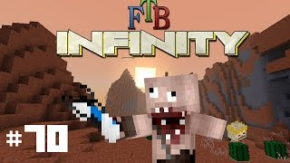 Minecraft: FTB Infinity: Giant Tentacle Boss & Slime Crystals! (Part 70) (Dutch Commentary)