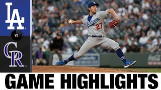 Rockies vs. Dodgers Game Highlights (4/2/21) | MLB Highlights