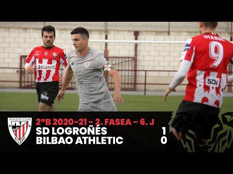 ⚽ Resumen I 2. Fasea – 6. J – 2ªDiv B I SD Logroñés 1-0 Bilbao Athletic I Laburpena