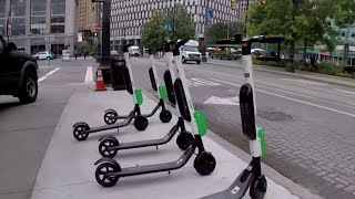 Dangers of rented Bird scooters revealed