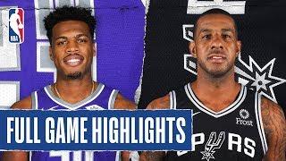 KINGS at SPURS   FULL GAME HIGHLIGHTS   December 6, 2019