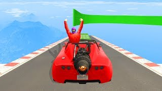 Ultimate NO HANDS Impossible Race! - GTA 5 Funny Moments