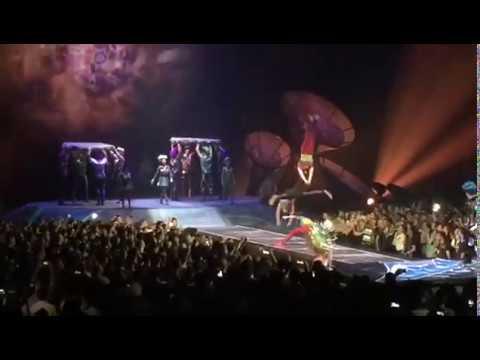 Cierre final Cirque du Soleil séptimo día no descansaré - de música ligera