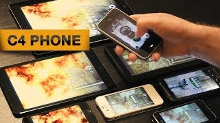C4 with Cell Phones and Tablets (Weaphones: Firearms Simulator)
