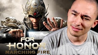 Real Shaolin Disciple Reacts to Marching Fire Expansion (For Honor)