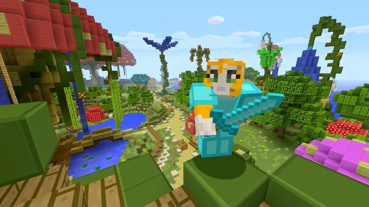 Minecraft Xbox - Bubble Panic - Hunger Games W/IBallistic ...