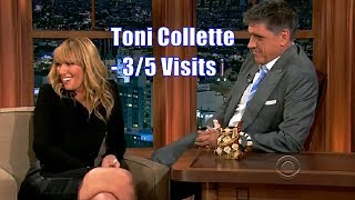 Toni Collette - The Location Of Tattoos - 3/5 Visits In Chronological Order