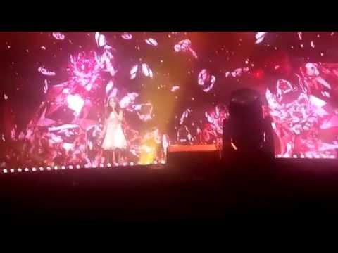 2014.08.17 Samsung Nanjing Music Festival - Zhang Liyin - 那些年 (Back Then) Fancam