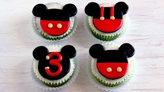 Mickey Mouse Cupcake and Cake Toppers | HappyFoods