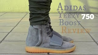 Adidas Yeezy Boost 750 Gum Detailed Review + On Feet