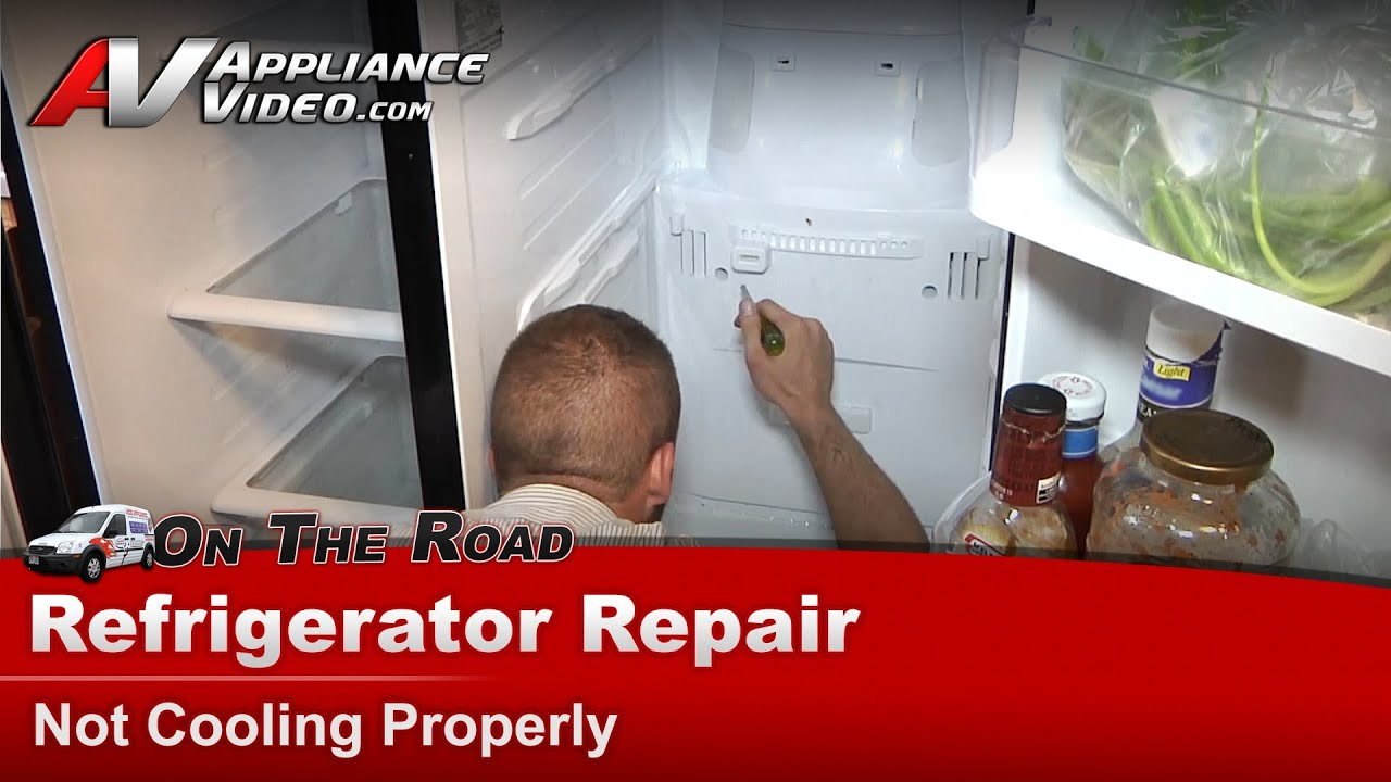 Refrigerator Repair Amp Diagnostic Not Cooling Warm