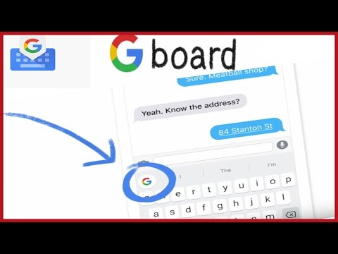 Gboard Adds Google's Search Box to iPhone Keyboards. Gboard is Google's iOS Keyboard app