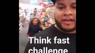 Think fast challenge!