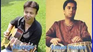 Enayet Hossain - [Ghazal - Tum Poocho] Alamgir & Enayet Hossain - Tabla