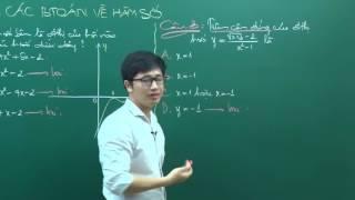 PEN-I 2017 - Thầy Nguyễn Thanh Tùng - Luyện cách giải nhanh bài toán Hàm số