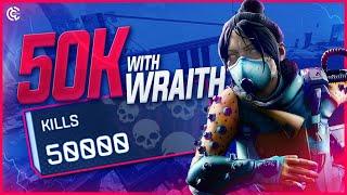 I HIT 50K KILLS WITH WRAITH! (Apex Legends PC) | SoaR Calamiti