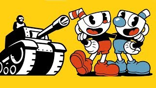 Old Dunkey and Cuphead