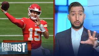 Nick Wright on his Chiefs win vs Chargers, gives credit to LA defense | NFL | FIRST THINGS FIRST