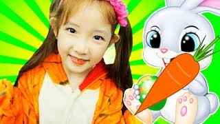 Mimi and the cute bunny | Alphabet Songs | ABC Songs for Children