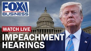 Watch Live: Trump impeachment hearings Day 4