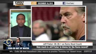 ESPN First Take   Rams defeat Buccaneers  Should the Rams keep Jeff Fisher