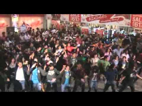 Indore Flash Mob - Mridang 2012 (IIM Indore)