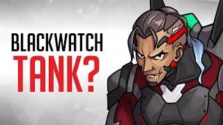 NEW Overwatch Hero Concept: Blackwatch Tank