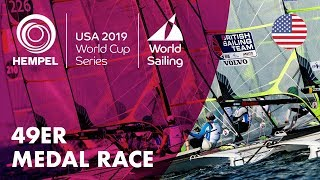 49er Medal Race | Hempel World Cup Series: Miami, USA