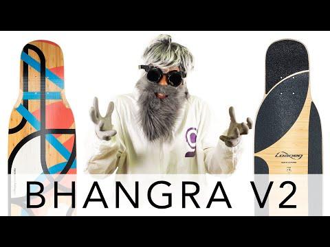 Video LOADED BOARDS Deck BHANGRA V2 Flex 2