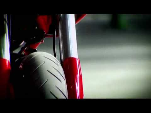 Ducati Hypermotard 796, like a musical machine