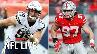 2019 NFL Draft: Comparing Nick and Joey Bosa | NFL Live