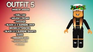 10 Awesome Female Roblox Outfits Xemika