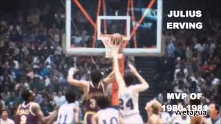 NBA MVPs OF ALL TIME (1955-2014)