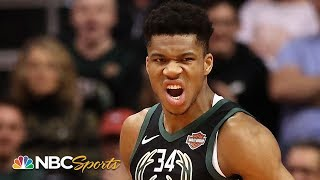 NBA MVP race is Giannis Antetokounmpo's to lose | NBC Sports
