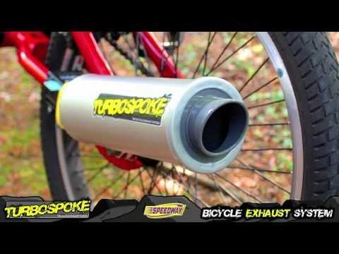 Pot d'échappement pour vélo
