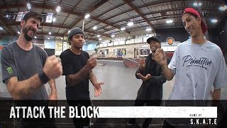 Attack The Block | Chris Cole, Felipe Gustavo, Nick Tucker & Tommy Fynn