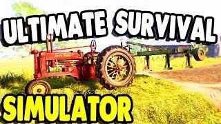 Most REALISTIC Farming & Building SIMULATOR EVER   Farmer's Dynasty Gameplay Part 1