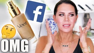 TESTING Makeup From FACEBOOK ADS | World's Best Foundation ???
