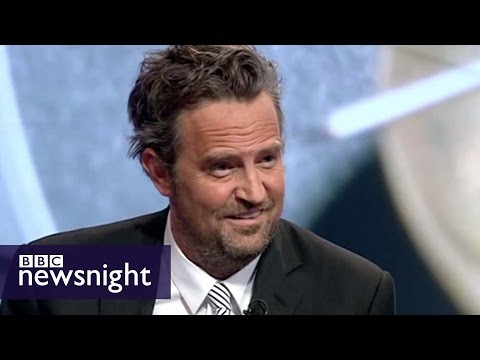 NEWSNIGHT: Matthew Perry Debates Drug Courts And Addiction With Peter Hitchens And Baroness Meacher - Smashpipe News