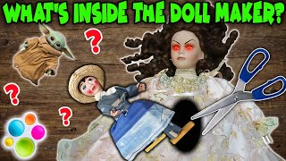 What's Inside The DOLL MAKER! Cutting Open Creepy Doll