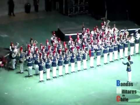 Tattoo Militar Chile 2012 Parte I