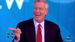 Bill de Blasio and Wife Chirlane McCray on Presidential Run   The View