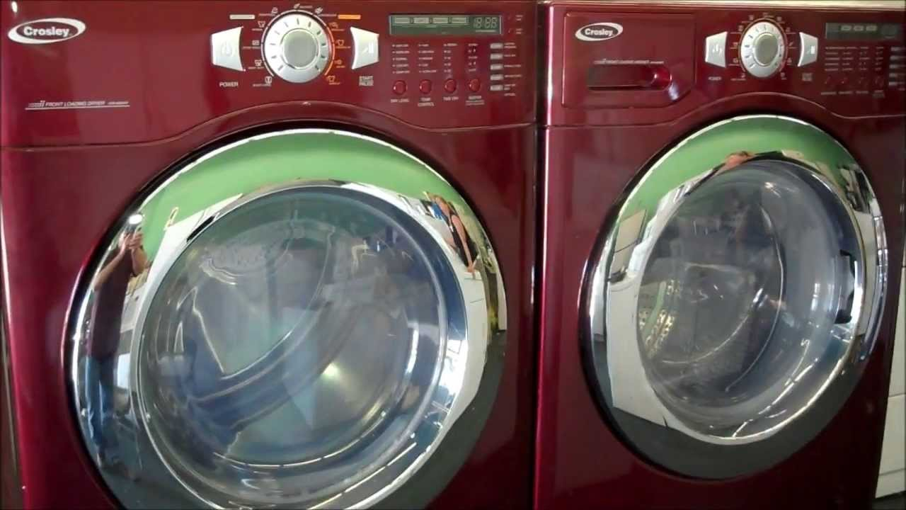 Crosley Maytag Front Loading Washer Amp Dryer Set With