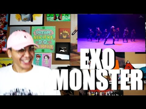 EXO - Monster MV Reaction [AGRESSIVE BODY ROLLING]