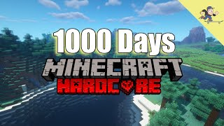 I Survived 1000 Days in Hardcore Minecraft : This Is What I Did
