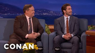 Jake Gyllenhaal Wants Andy Richter To Play Him In A Movie  - CONAN on TBS