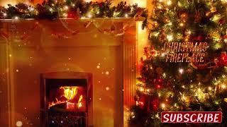 Stunning Christmas Fireplace - 1 Hour of Binaural ASMR sounds Relaxing [No talking]