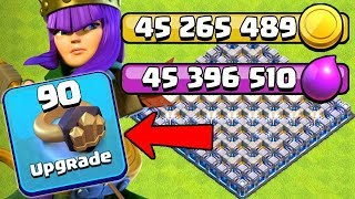 OVER 90 MILLION LOOT SPENT in this EPISODE!  TH12 Farm to Max   Clash of Clans